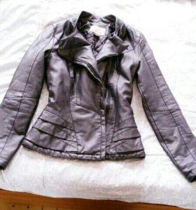 кожанная пиджак