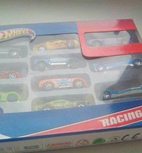 Набор машинок HotWheel RACING CAR