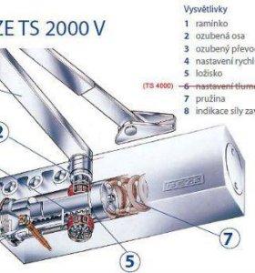 GEZE TS 2000 доводчик