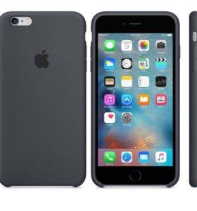 Силиконовый чехол для iPhone 6 Plus/6s Plus, Серый