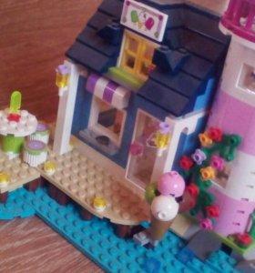 Морской домик из LEGO