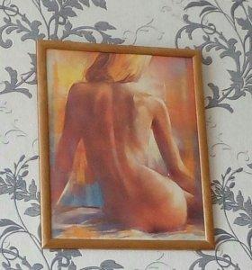 """Художественная картина """"Девушка"""""""