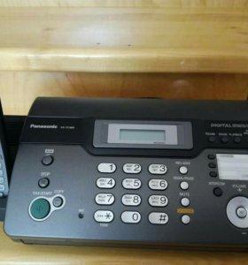 Телефон -факс Panasonic новый !