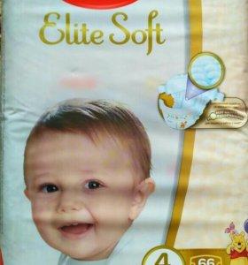 Huggies Elite Soft 4(66шт)