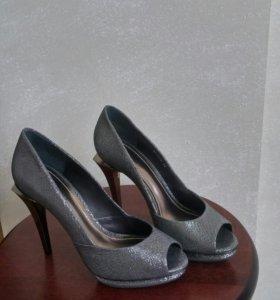 """Туфли серые """"BURANA"""""""
