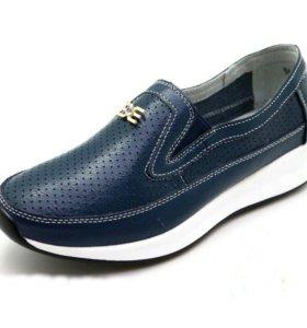 Туфли из нат.кожи новые