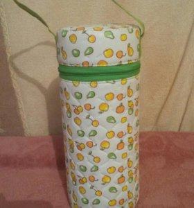 Термос для бутылочки и комплект в коляску