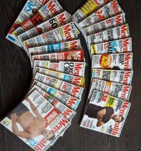 Журналы Men's health за 2015-2016