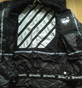 Фирменная спортивная мужская куртка