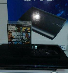 PS3 с диском в комплекте