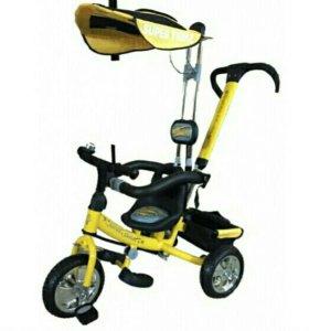 Велосипед трехколесный Super Trike «WS604» желтый
