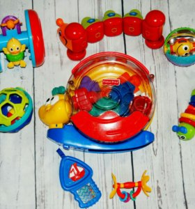 Fisher price, tiny love,playscool