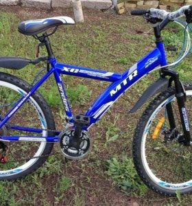 Новый спортивный велосипед
