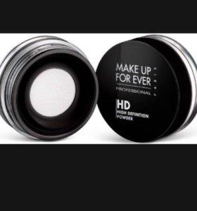 Пудра Make up forever HD рассыпчатая