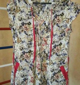 Туника, блузка, брюки для беременных 48-50