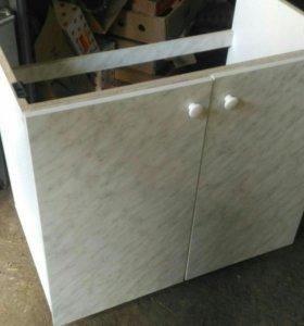 Моечный шкаф и мойка из нержавейки