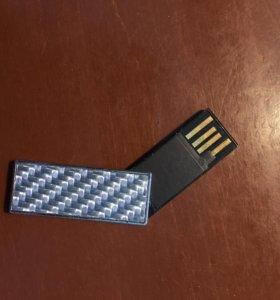 Суперкомпактная флешка на 2 Гб