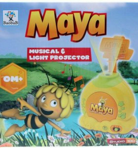 Проектор пчелка Майка с световыми и звуковыми