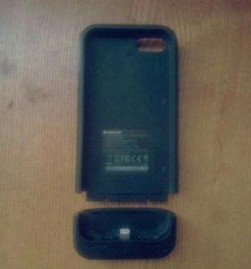 Чехол зарядка IPhone 5/5S