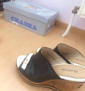 Обувь нат.кожа сабо