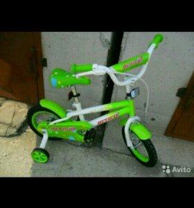 Новвй велосипед