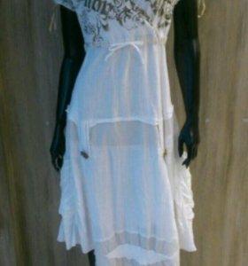 L 48 50 Италия / Италия платье новое