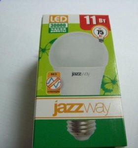 Лампа светодиодная 11Вт Е27 белая