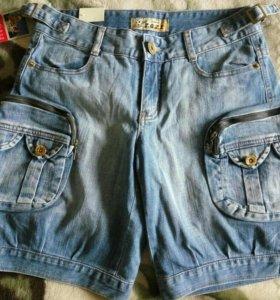 Новые шорты джинса подростку