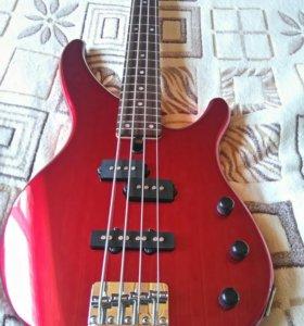 Бас-гитара yamaha trbx174 RED metallic