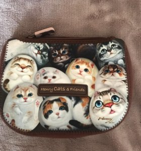 косметичка henry cats & friends