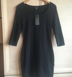 Новое чёрное платье 44р.