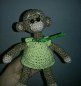 Игрушка обезьянка ☺