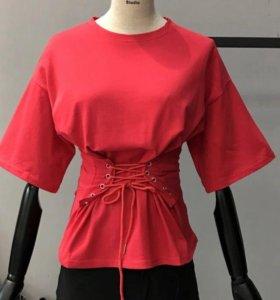 Новая женская футболка/блуза