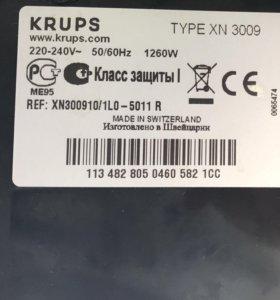 Капсульная кофеварка NESPRESSO Krups XN 3009 pixie