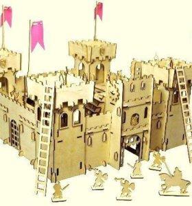 Крепость для мальчиков (деревянная)