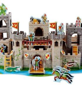 "3D Пазл ""Рыцарский замок"" , фирмы MelissaDoug"