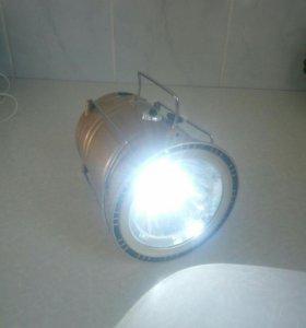 Кемпинговый фонарь+powerbank