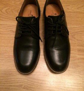 Ботинки лоферы женские