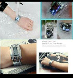 Новые электронные часы водонепроницаемые унисекс