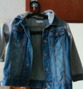Детская джинсовая куртка