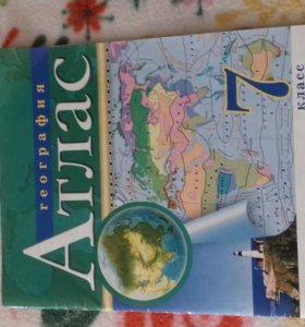 Атлас по географии за 7 класс