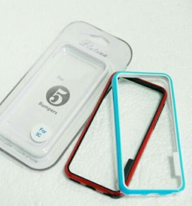 Бампер Iphone 5C Platina