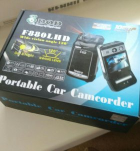 Новый видеорегистратор DOD F880LHD