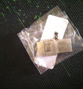 Флешка 8 Gb Micro USB - USB Type A