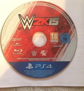 Игра на PlayStation 4 W2k15