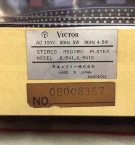 Victor JL-b41 проигрыватель пластинок