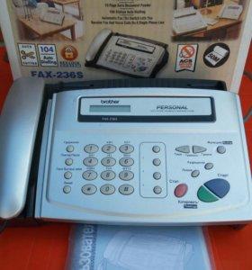 Факс brother 236s
