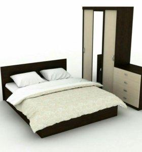 Спальный набор 4 предмета с матрасом