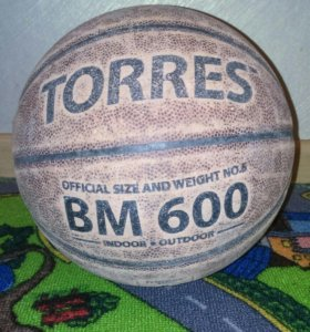 Мяч баскетбольный N5 кожаный