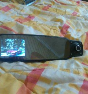 Зеркало регистратор 3 камеры